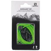 Шнурки Salomon 2017 Шнурки Quicklace Kit Green