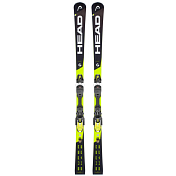 Горные лыжи с креплениями HEAD 2018-19 Supershape i.Speed SW MFPR+PRD 12 GW BRAKE 85 [F] black/yellow