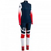 Комплект беговой Bjorn Daehlie 2017-18 Racesuit Nations 2-Piece Wmn Norwegian Flag