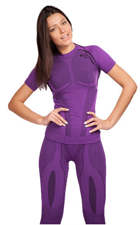 Футболка ACCAPI X-COUNTRY SHORTSL.T-SHIRTLADY cyclamen (сиреневый)
