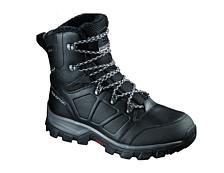Ботинки городские (высокие)Обувь для города<br>Самые теплые зимние ботинки Salomon для ношения в экстремальных условиях (до -40 С)<br> <br> -Влагозащитная мембрана Climashield™<br> -Меховая подкладка&amp;nbsp;<br> -Утеплитель Aerogels™&amp;nbsp;<br> -Защитная резиновая накладка задника&amp;nbsp;<br> -Синтетическая защитная накладка на мыске&amp;nbsp;<br> -Внешний задник&amp;nbsp;<br> -Вставка из вспененного пластика в каблуке&amp;nbsp;<br> -Вшитый язычок &amp;nbsp;<br> -Протектор &amp;nbsp;Ice Grip для оптимального сцепления с обледеневшей поверхностью<br> <br><br>Пол: Мужской<br>Возраст: Взрослый