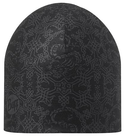 Купить Шапка BUFF Coolmax COOLMAX REVERSIBLE HAT XOUI GRAPHITE - BLACK Банданы и шарфы Buff ® 1185655