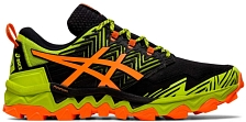Беговые кроссовки элит Asics Gel-FujiTrabuco 8 Neon lime/shocking orange