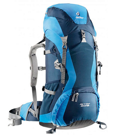 Рюкзак Deuter Aircontact Lite ACT Lite 35 + 10 SL midnight-coolblue