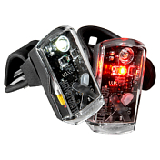 Фонарь Kryptonite AVENUE  F-50/R-14 DUAL LED USB-RLT