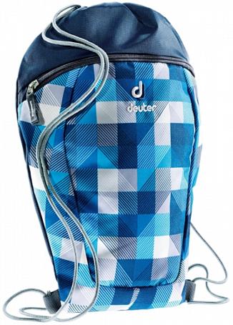 Купить Сумка для сменки Deuter 2015 School Sneaker Bag blue arrowcheck, Рюкзаки школьные, 1147532