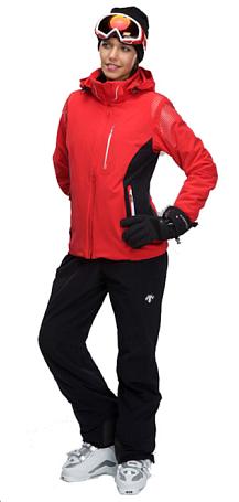 Купить Куртка горнолыжная DESCENTE 2011-12 JEN 85/93 ELECTRIC RED/BLACK Одежда 744772