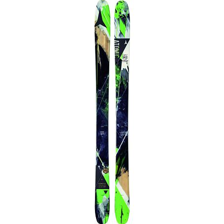 Купить Горные лыжи ATOMIC 2014-15 FREESKI AUTOMATIC 102 & Green/BLACK, лыжи, 1140183
