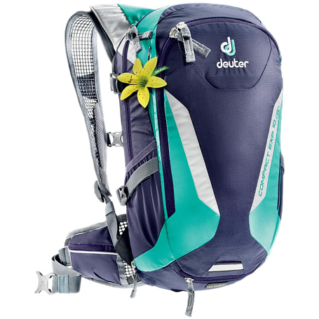 Рюкзак Deuter 2017-18 Compact EXP 10 SL blueberry-mint