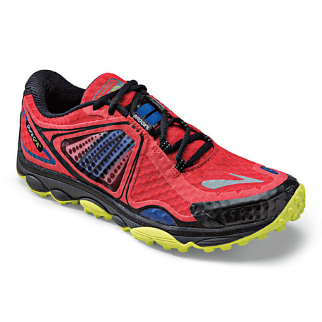 Кроссовки Life Style BROOKS PureGrit 3 High Risk Red/Electric/Lime Punch