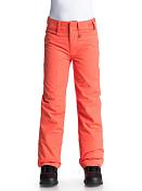Брюки сноубордическиеОдежда сноубордическая<br>Сноубордические штаны Backyard для девочек из коллекции Roxy. Регулировка талии, гейтеры из тафты, держатель для скипасса, сеточная вентиляция. 100% полиэстер.<br><br>Характеристики<br><br><br>Водостойкость: Dry Flight 10K<br><br>Утеплитель: 80 г<br><br>Подкладка: фактурная тафта и трикотаж с начесом<br><br>Крой: стандартный<br><br>ХАРАКТЕРИСТИКИ<br><br>Регулировка талии<br><br>Гейтеры из тафты<br><br>Держатель для скипасса<br><br>Сеточная вентиляция<br><br><br><br><br>Состав<br><br>    100% полиэстер<br>