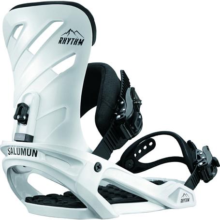 Купить Сноуборд крепления SALOMON 2017-18 RHYTHM WHITE 1360510