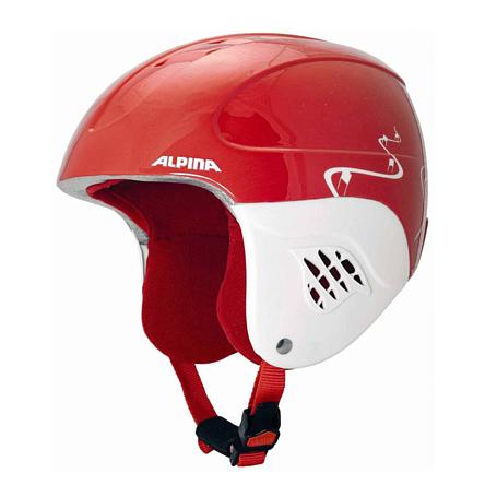 Купить Зимний Шлем Alpina CARAT red turns, Шлемы для горных лыж/сноубордов, 1279909