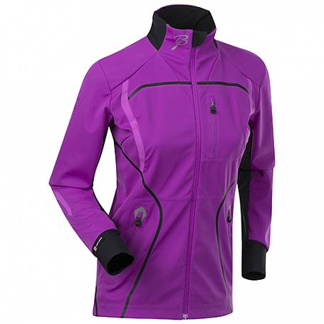 Купить Куртка беговая Bjorn Daehlie JACKET/PANTS Jacket LEGEND Women Purple Cactus Flower/Black (Розовый/черный) Одежда лыжная 1102599