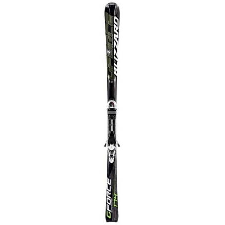 Горные лыжи с креплениями Blizzard 2012-13 G-FORCE SUPERSONIC IQ+IQ-TC 12 BLK-ANTHR-WHI-GR