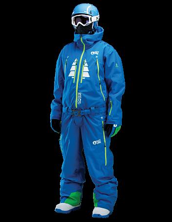 Купить Комбинезон сноубордический Picture Organic 2015-16 BUZZ 2 Blue Одежда сноубордическая 1219579