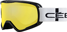 Очки горнолыжные CEBE 2019-20 Striker L Black Stripes/Yellow Flash Mirror