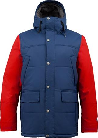 Купить Куртка сноубордическая BURTON 2013-14 M TWC SHACKLETON JK ATLANTIC/BURNER Одежда 1021718