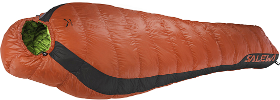 Спальник Salewa 2015 Sleeping bags FUSION -8 HYBRID SB ( LEFT ) FLAME /