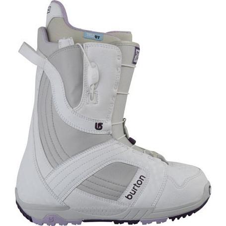 Купить Ботинки для сноуборда BURTON 2011-12 MINT WHITE/GRAY/PURPLE 753826