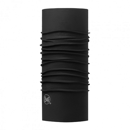Купить Шарф BUFF Original Buff SLIM FIT SOLID BLACK Банданы и шарфы ® 1263306