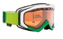 Очки горнолыжныеОчки горнолыжные<br>Прорезиненная обшивка ремня очков предотвращает его скольжение на лыжных шлемах.<br>Шарнирное крепление ремня<br>Ремень очков шарнирами &amp;#40;крючками&amp;#41; крепится за внешнюю часть рамы, что позволяет очкам удобно сидеть, особенно при их использовании вместе с горнолыжным шлемом.<br>Вентиляция рамы<br>Отверстия по бокам и на нижнем краю рамы очков позволяют воздуху заполнять внутренний объем очков, тем самым предотвращая линзы от запотевание. Поток воздуха является косвенным, так что глаза не подвержены сквознякам.<br>Проветриваемые линзы<br>Обеспечивают целенаправленный поток воздуха и вентиляцию задней стенки линзы &amp;#40;объектива&amp;#41;. Это эффективно предотвращает линзы от запотевания.<br>Система турбовентиляции<br>Для оптимизации обмена воздуха используется специальная пены. Таким образом создающаяся циркуляция воздуха удаляет влажность и предотвращает очки от запотевания.<br>Обзор 180&amp;#43;<br>Некоторые модели рам очков, в сочетании с панорамой линзы, могут предоставлять 180-градусный панорамный обзор, что превышает европейские стандарты. Этот более широкий угол зрения облегчает ранее распознавание опасности по бокам горнолыжного склона.<br>Технология Quattroflex<br>100% защиты от ультрафиолетового излучение UVA, UVB и UVC: Предотвращает / защищает от повреждений сетчатки. <br>Противотуманное покрытие: Предотвращает / защищает от запотевания линз. <br>Теплоизоляция: Предоставляет оптимальный обзор за счет особенностей изоляционного материала. <br>Термоблок: Воздушная подушка размещается между внутренней и внешней линзами и защищает их от замерзания или запотевания. <br>Высококонтрастная поляризованная система: Максимально поглощает рассеянный свет, обеспечивает безбликовый обзор / видение и повышает безопасность за счет цветоотдачи. Контрастность повышена на 30%. <br>Уровень защиты S2.