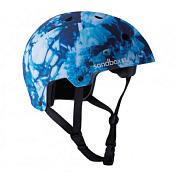 Летний шлемШлемы для скейта/лонгборда/роликов<br>Классический шлем для скейтбордистов, из прочного корпуса и специально разработанного пенополистирола EPS. Предназначен для защиты от сильных ударов.<br><br>Характеристики: <br><br>- Внешняя оболочка - прочный пластик ABS<br>- Внутренник - пена EPS.<br>- Дополнительные вставки для лучшей посадке на голове.