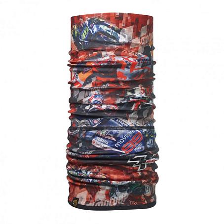 Купить Бандана BUFF MOTO GP POLAR RACING RED / BLACK Банданы и шарфы Buff ® 1263728
