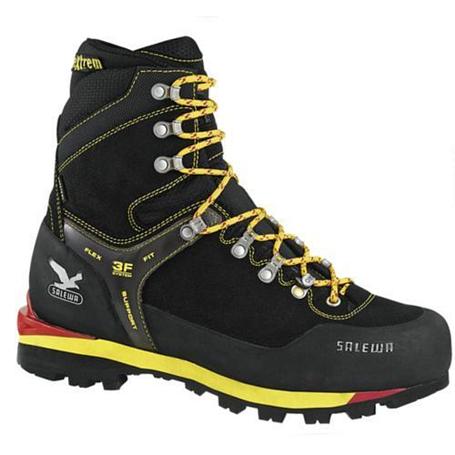 Купить Ботинки для альпинизма Salewa Mountaineering WS BLACKBIRD INSULATED GTX (M) ЧерныйЖелтый, Альпинистская обувь, 693501