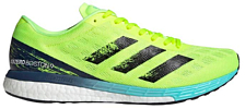 Беговые кроссовки Adidas Adizero Boston 9 M Solar Yellow/Core Black/Cloud Aqua
