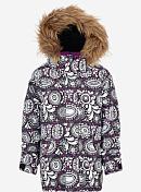 Куртка сноубордическаяОдежда детская<br>Сноубордическая куртка для детей<br> <br> -мембранная ткань DRYRIDE Durashell™ 2L (10,000MM/5,000G)<br> -подкладка тафта<br> -критические швы проклеены<br> -система увеличения размера Room-To-Grow™, куртка послужит не один сезон<br> -утеплитель Thermacore™<br> -эргономичный капюшон с виндстоппером, совместимый со шлемом<br> -карманы с клапанами<br> -капюшон совместим со шлемами<br> -манжеты на липучке