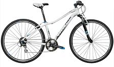 ВелосипедДля города<br>Велосипед TrekNeko SLX WSD (2016) – полупрофессиональный спортивный женский байк для езды по городу и бездорожью. Эта модель отличается отличной амортизацией – мягкая вилка с ходом в 100 мм даст вам возможность кататься по самым разбитым дорогам, не чувствуя усталости и дискомфорта. Полупрофессиональные тормоза и 27-скоростная трансмиссия от Shimanoтакже сделают свое дело – вы сможете попробовать разные режимы катания и выбрать подходящую нагрузку для ног.&amp;nbsp;<br> <br> Класс: Начальные<br> Категория: Городские/Туристические<br> Год выпуска: 2016<br> Назначение велосипеда: Город/Комфорт<br> Рама: Геометрия WSD, алюминиевый сплав FX Alpha Silver Aluminum, совместимость с датчиком DuoTrap<br> Вилка: Высокопрочная сталь крепеж под багажник lowrider, CLIX дропауты<br> Диаметр колеса: 28<br> Обода: передний обод Bontrager AT-750 двойной из алюминиевого сплава, задний обод Bontrager AT-750 двойной из алюминиевого сплава<br> Покрышки: передняя покрышка Bontrager H2 Hard-Case Lite w/puncture resistant belt, 700x35c , задняя покрышка Bontrager H2 Hard-Case Lite w/puncture resistant belt, 700x35c<br> Втулки: Formula FM21 передняя втулка из алюминиевого сплава, Formula FM32 задняя втулка из алюминиевого сплава<br> Манетки: Shimano Altus EF51, 8 скоростей<br> Передний переключатель: Shimano Altus<br> Задний переключатель: Shimano Acera M360<br> Система/Шатуны: Shimano M131, число зубьев 48/38/28, защита цепи<br> Педали: нейлоновая основа/рамка из алюминиевого сплава<br> Кассета: Shimano HG31, 11-32, 8 скоростей<br> Тип тормозов: V-Brake<br> Тормоза: Tektro<br> Седло: Bontrager SSR WSD<br> Подседельный штырь: Bontrager SSR, 2-х болтовый зажим, диаметр 27 мм, смещение 12 мм<br> Вынос: Bontrager SSR, 25.4мм,10 градусов<br> Руль: Bontrager Low riser, 25.4мм, 15мм подъем<br> Рулевая колонка: Slimstak, неразборный подшипник, закрытый<br><br>Пол: Женский<br>Возраст: Взрослый