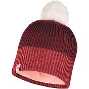Шапка Buff JR KNITTED & POLAR HAT AUDNY WINE