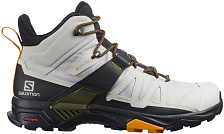 Ботинки SALOMON X Ultra 4 Mid Gtx Lunar Rock/Magnet/Buttersco