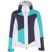 Куртка горнолыжная HEAD 2018-19 Sierra Jacket W navy/turquoise