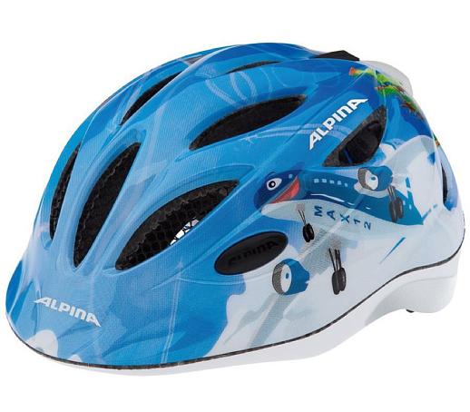 Купить Летний шлем Alpina JUNIOR / KIDS Gamma 2.0 Flash planes, Шлемы велосипедные, 1180149