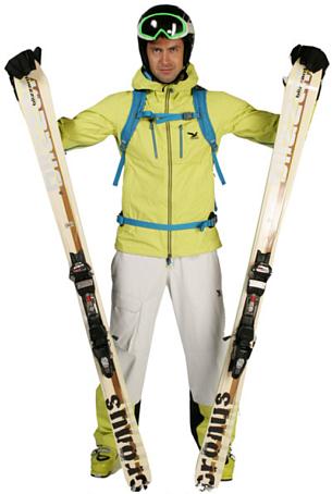Купить Куртка туристическая Salewa Alpine Extreme ALBONASKA PTX 3L M JKT citroc.8460 (лимонный) Одежда 680014