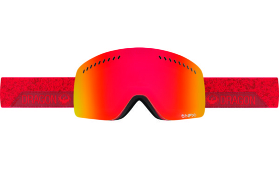 Купить Очки горнолыжные DRAGON 2016-17 NFXs Stone Red / Ion 1299438