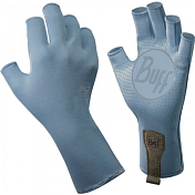 Перчатки рыболовныеПерчатки, варежки<br><br>Технологичные рыболовные перчатки с фактором защиты от солнца UPF 50+, прекрасно дышат.<br>Выполнены из прочной стрейтчевой ткани. Повторяют все изгибы кисти. Ладонь перчатки покрыта силиконовым принтом.<br>Пальцы перчатки отрезаны на 3/4.<br>Удлиненная манжета.<br>Состав: 95% нейлон, 5% лайкра; принт на ладони: 100% силикон, трикотаж<br><br><br>Пол: Унисекс<br>Возраст: Взрослый<br>Вид: перчатки