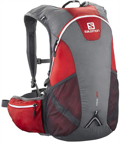 Рюкзак SALOMON TRAIL 20 BRIGHT RED/IRON