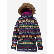 Куртка сноубордическаяОдежда детская<br>Сноубордическая куртка-парка для девочек&amp;nbsp;<br> <br> -мембранная ткань DRYRIDE Durashell™ 2L (10,000MM/5,000G)<br> -подкладка тафта, флис на спинке<br> -критические швы проклеены<br> -система увеличения размера Room-To-Grow™, куртка послужит не один сезон<br> -утеплитель Thermacore™ 100/80 гр<br> -карман для скипасса, карманы с клапанами<br> -капюшон с искусственным мехом, совместим со шлемами<br> -манжеты на липучке