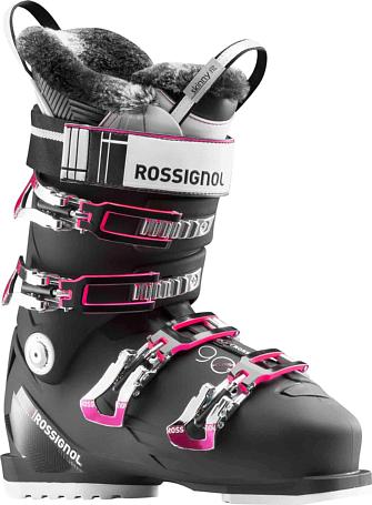 Купить Горнолыжные ботинки ROSSIGNOL 2017-18 PURE ELITE 90 BLACK Ботинки горнoлыжные 1363777