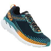 Беговые кроссовки Hoka 2019 M Clifton 5 Black Iris/Storm Blue