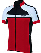 Велоджерси BBB Keirin jersey s.s. Black/Red