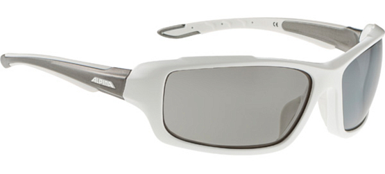 Купить Очки солнцезащитные Alpina SPORT STYLE CALLUM white-tin/black mirror S3 1131811