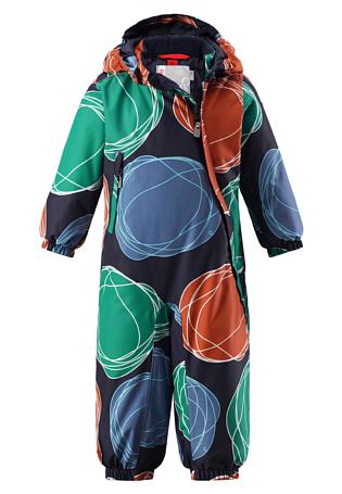 Купить Комбинезон горнолыжный Reima 2017-18 Loska Green Детская одежда 1351836