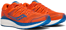 Беговые кроссовки Saucony 2019 HURRICANE ISO 5 Orange / Blue