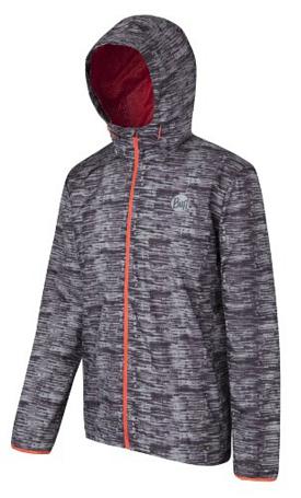 Купить Куртка беговая BUFF 1043 WINDBREAKER J (EXCALIBUR) серый Одежда для бега и фитнеса 871072