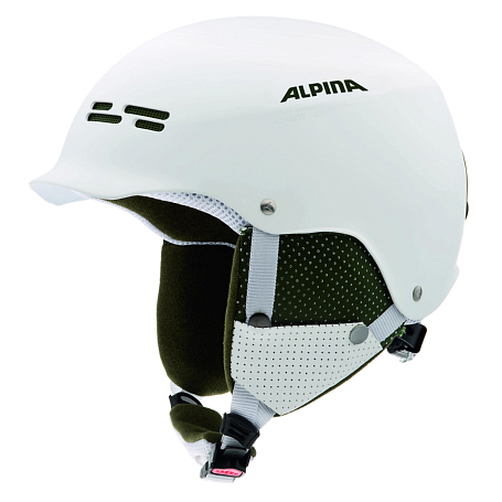Зимний Шлем Alpina PARK SPAM CAP white matt