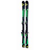 Горные Лыжи с Креплениями Fischer 2016-17 Progressor F19 TI Racetrack+rsx12 Powerrail Solid Black/green 85 [F]